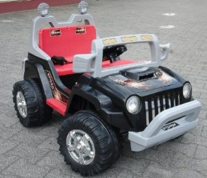 jeep électrique enfant