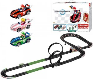 Circuit de voitures radicommandé Mario Kart