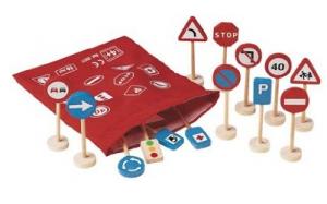 panneaux de signalisation pour petites voitures