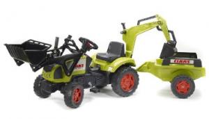 Voitures p dales pour les enfants jeux et jouets d 39 enfant - Tracteur remorque enfant ...