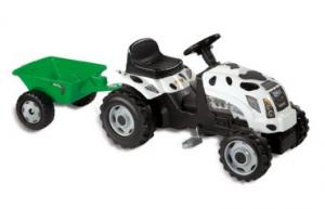 tracteur à pédales Smoby